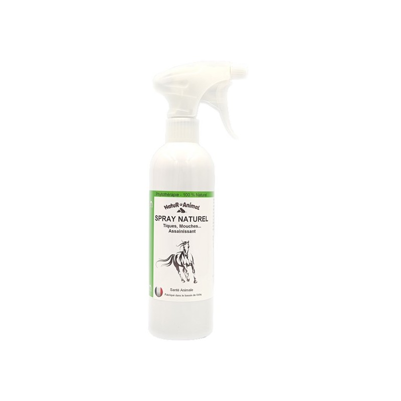 spray naturel chevaux mouches puces taons 500 ml