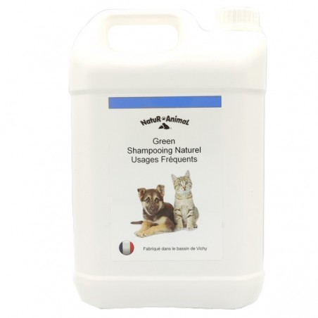 shampooing usages fréquents chiens et chats 5 litres
