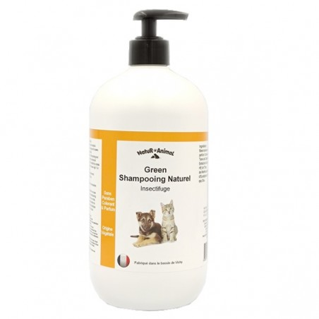 shampooing insectifuge chiens et chats  1 litre